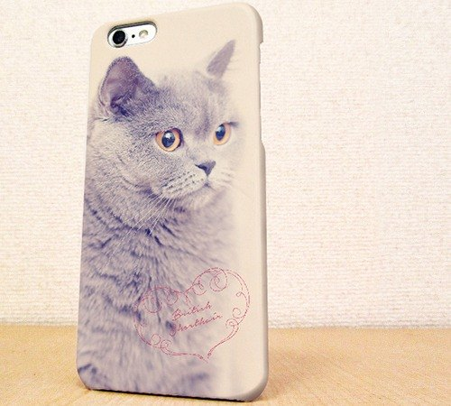 Free Shipping ☆ iPhone case GALAXY case ☆ British short hair phone case