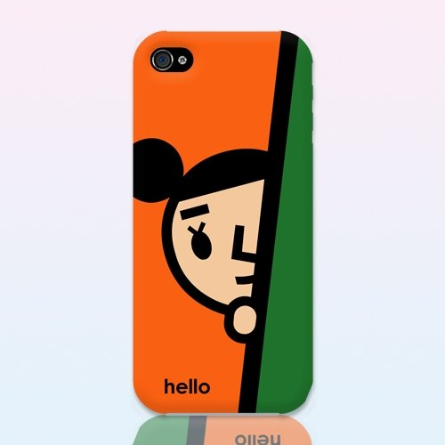 【BestFriend】Camera-Shy GirlFriend iPhone 5/5S Case