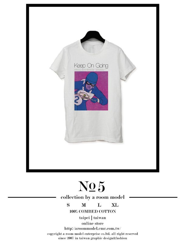 WEEKEND HIPPIE - │ NO.5 KEEP ON GOING │ PHOTOGRAPH POSTER T-SHIRT