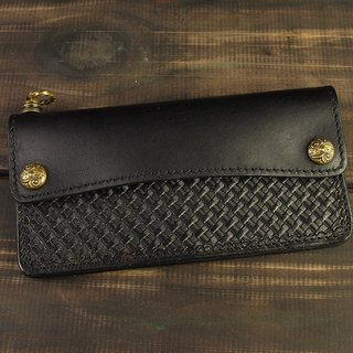 MT LIMITED EDITION- NO.013 Wallet 雕花扣基本款长夹