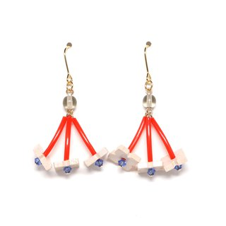 rumba - red earrings / earrings