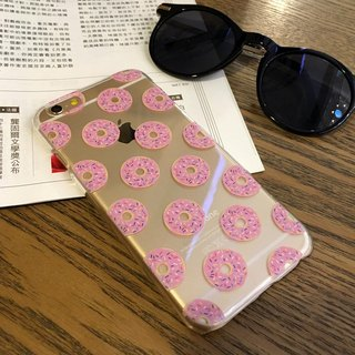 香港原创设计 士多啤梨冬甩图案 iPhone X,  iPhone 8,  iPhone 8 Plus,  iPhone 7, iPhone 7 Plus, iphone 6/6S , iphone 6/6S PLUS, Samsung Galaxy Note 7 透明手机壳