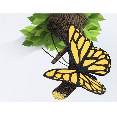 3D Light FX - Nature Series Yellow Butterfly - 3D立体造型灯 黄色蝴蝶
