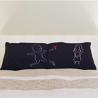 """Give My Heart to you"" Couple Pillowcase (FREE HAND CREAM)"