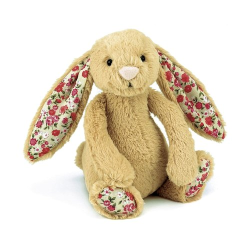 Jellycat Bashful Blossom Honey Bunny 兔 18cm