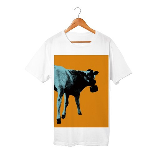 Collage Art Cow T-shirt