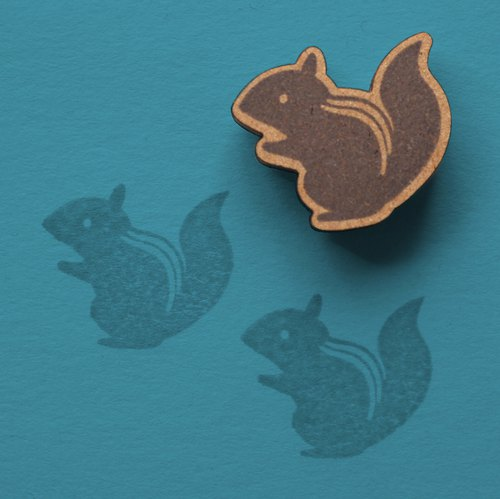 Renewal! 【Stamp】 Hand-painted illustration stamp · squirrel
