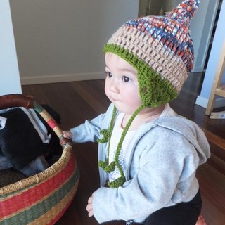 ayana earmuffs sprout sizeS gnome beanie pixie australia  baby kids warm