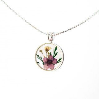 Pressed Flower Necklace (经典押花项链)