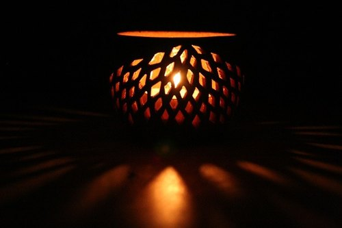Japanese Pattern candle holder S