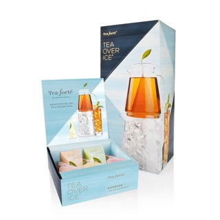 Tea Forte 手冲冰酿茶礼盒组 TOI Steep&Chill Pitcher Set