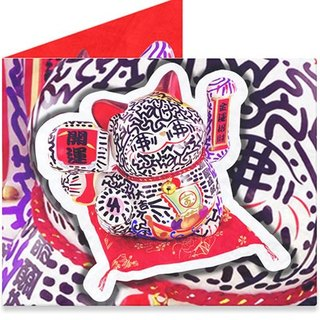 Mighty Wallet(R) 纸皮夹_Lucky Cat