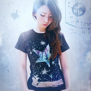 star sign / T-Shirt (黑)