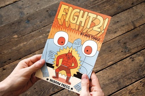 FIGHT! # 2 - Jack Teagle*英国 Nobrow 绘本