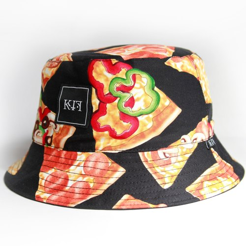 KIF '15 Pizza Mania Bucket Hat 双面渔夫帽