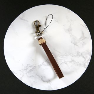 Leather mini strap