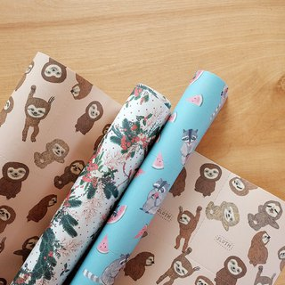 Reusable Wrapping papers (Collection 6) : Set of 3