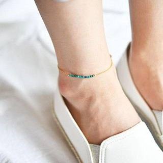 Symbol of Good Luck and Prosperity Chrysokora (Silicone) Anklet