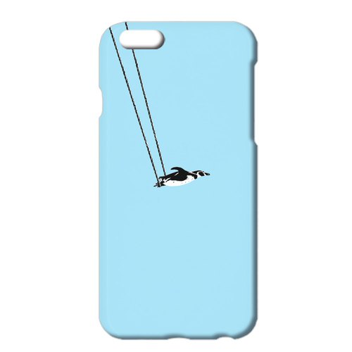 iPhone case / penguin and aerial swing A