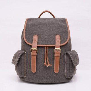 doom doom backpack – smoke brown
