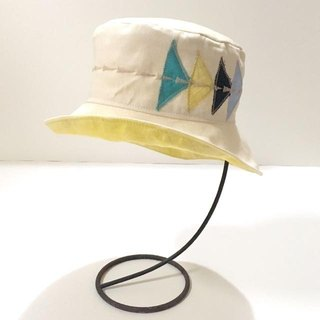 A blue sky going out baby hat