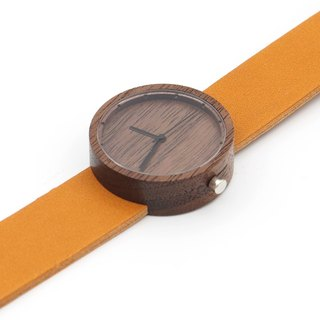Nakari watch Walnut Tan Girl size