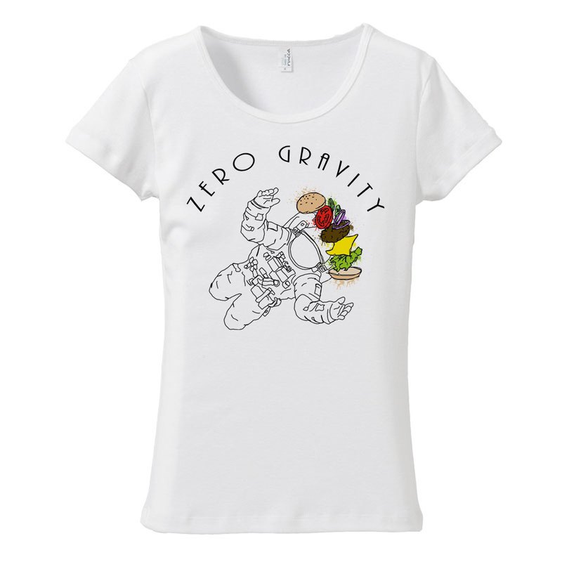 Women's T-shirt / Calorie over taypo