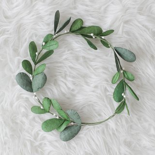 Mistletoe Handmade Floral Crown