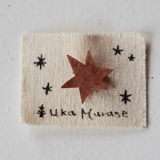star broach (copper)