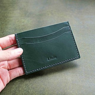 【VULCAN 悠游卡夹 Card Holder】 意大利 INCAS 全植物鞣胎牛皮