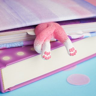 Kitty Tail bookmark from authentic MYBOOKMARK