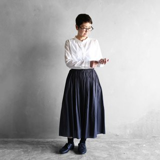 Loose cotton skirt · Sumikuro