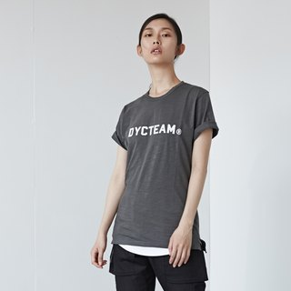 DYCTEAM - 植绒LOGO Slubbed Fabric Tee