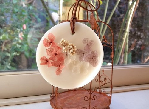 Aroma wax sachet * ~ Botanical - (hydrangea Afternoon) Orders production]