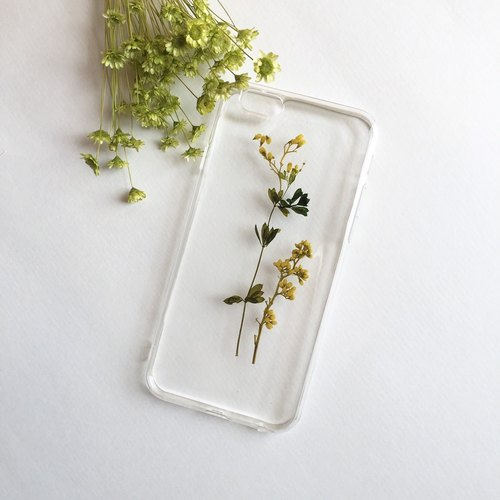 秋季恋歌::押花手做IPHONE手机壳pressed flower phonecase