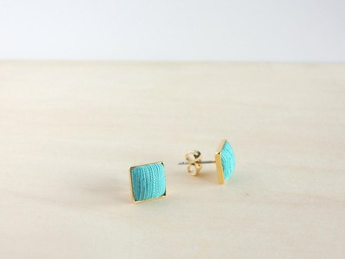 Summer color earrings no.4 (Aisugurin)