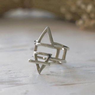 Alchemy Symbol Ring jewelry magic goth occult Vintage Alchemical silver gothic