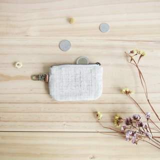 Little Coin Purses Hand Woven  Natural Color Hemp