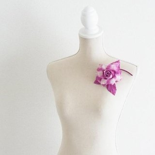 Corsage M · Rose (Purple)
