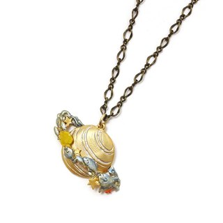 Saturn Ocean Necklace NE 405