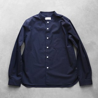 Band color cotton shirt NV · unisex