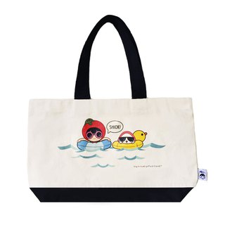 Ang Ku Kueh Girl and Red Egg Travel Series - Tote Bag (Holiday) 度假游泳单肩包