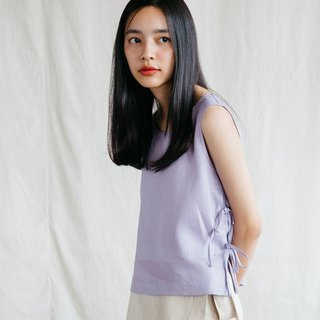 Tie Side Camisole Top in Lavender