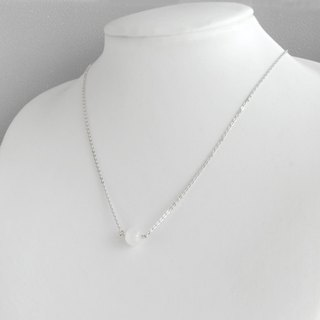 Moonstone necklace / silver 925 /