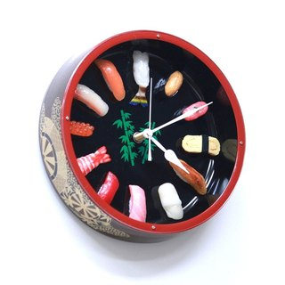 Sushi clock S / Imitation food wall clock / made in Japan / RealGift /