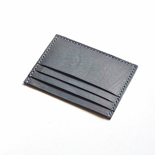 Credit Card Wallet/ Card Organiser in Light Brown Leather (Rounded Corner)