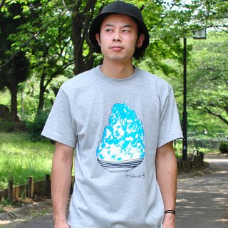 刨冰 Kakigori Shaved ice Men's t-shirt BlueHawaii Gray S M L XL 2XL 3XL