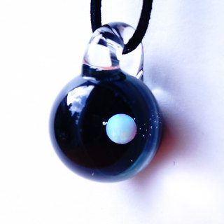 New only You are the only star. White opal entered verb weight grass glass pendant universe