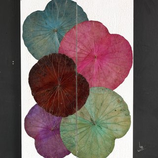 Lotus Leaves Wall Art (Set 2 pcs.)