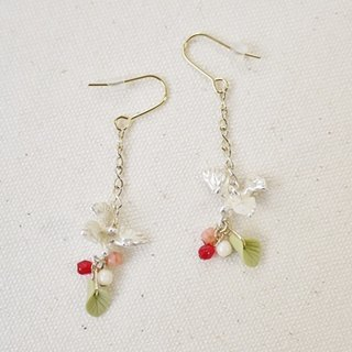Poppo spring Poppo / earrings PA177